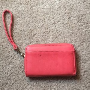 Charming Charlie's hot pink wallet